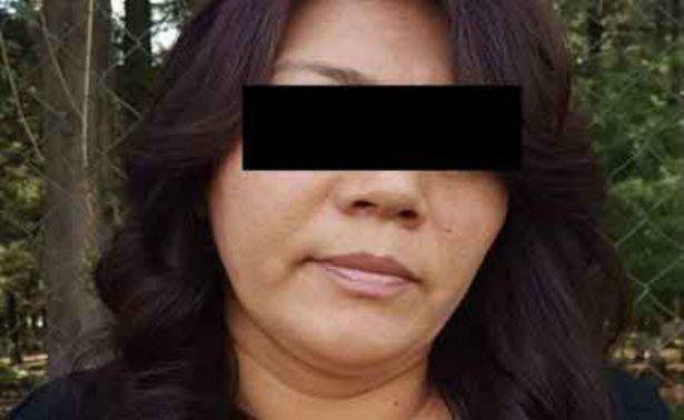 """Cae en el Edomex la cuñada del líder del cártel de """"Los Rojos"""""""