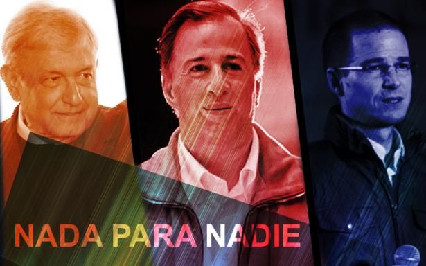 Anaya, Meade, AMLO: nada para nadie en inseguridad