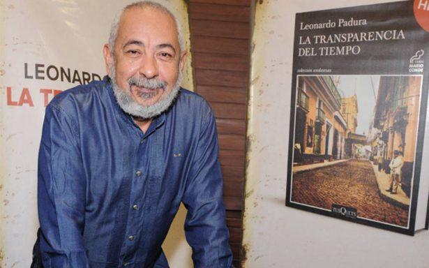 """Leonardo Padura visita a México con motivo de su nuevo libro """"La transparencia del tiempo"""""""