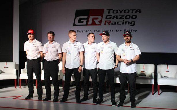 Decididos a ganar, así es el team Toyota Gazoo Racing