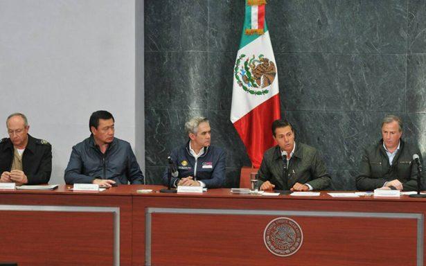 Destino de recursos del Fonden será transparente, garantiza Peña Nieto