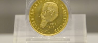 Exposición numismática narra antecedentes del primer Banco Central de México