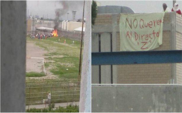 Se registra incendio y detonaciones en penal de Cadereyta; habría un muerto