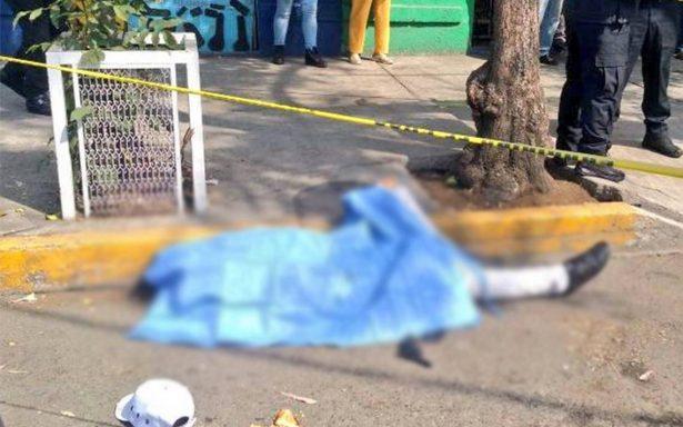 Asaltante muere tras ser abatido por la policía en la Cuauhtemoc