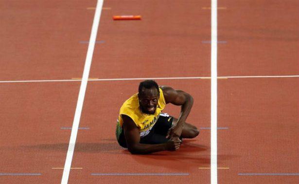 Bolt dice adiós del atletismo con lesión en el relevo 4×100