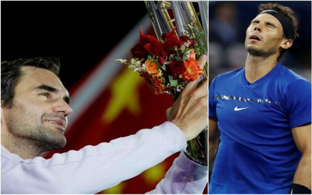 Federer vence a Nadal en final de Shanghai y acaba con su racha de victorias