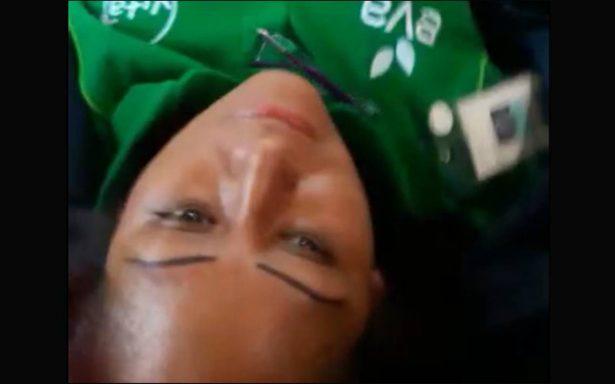 [Video] Mujer baleada narra cómo casi la matan en la México Pachuca
