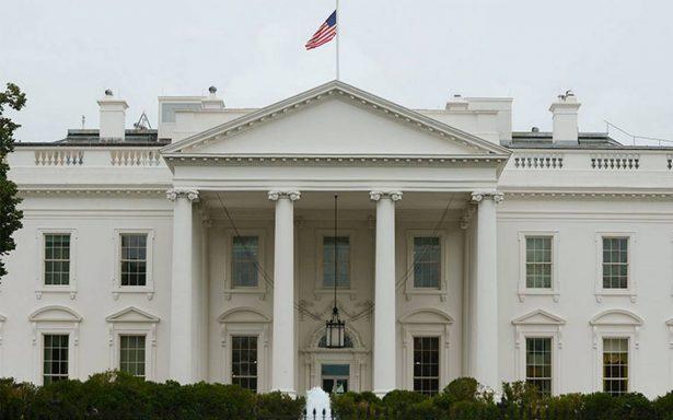 Persona herida de bala en la Casa Blanca se disparó a si mismo