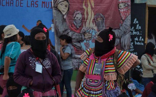 El Ejército Zapatista celebra a las mujeres que luchan