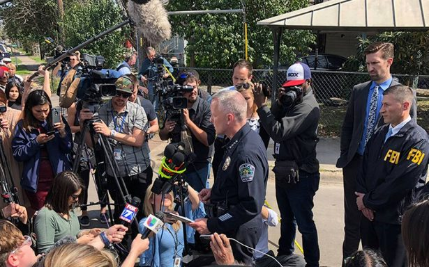 Los tres ataques con paquetes bomba en Texas pueden ser crímenes racistas: policía