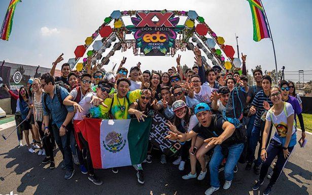 Ya inició la fiesta electrónica: el EDC México celebra su quinto aniversario