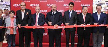 Inauguran Sears y Sanborns en centro comercial Parque Las Antenas