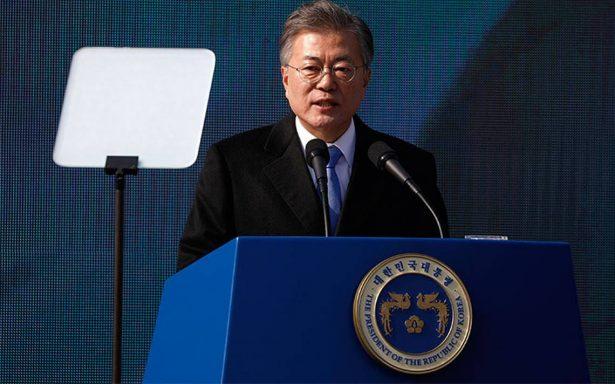 "Presidente surcoreano califica como ""hito histórico"" cumbre entre Kim y Trump"