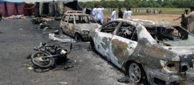 Explosión de camión cisterna en Pakistán deja 123 muertos y 145 heridos