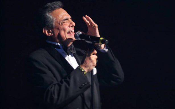 ¡José José recuperado! El cantante anunció su regreso a los escenarios