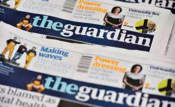Diario británico The Guardian adoptará el formato tabloide