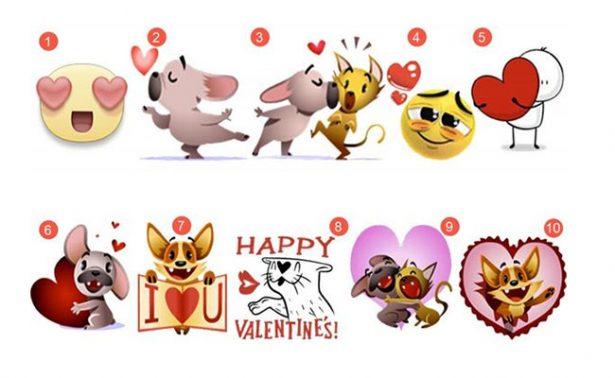 Con tarjetas y stickers, Facebook celebra el Día del Amor