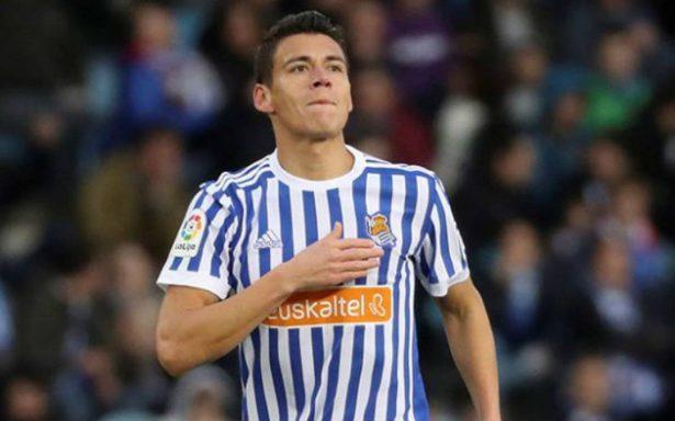 Héctor Moreno se estrena como goleador en la Real Sociedad