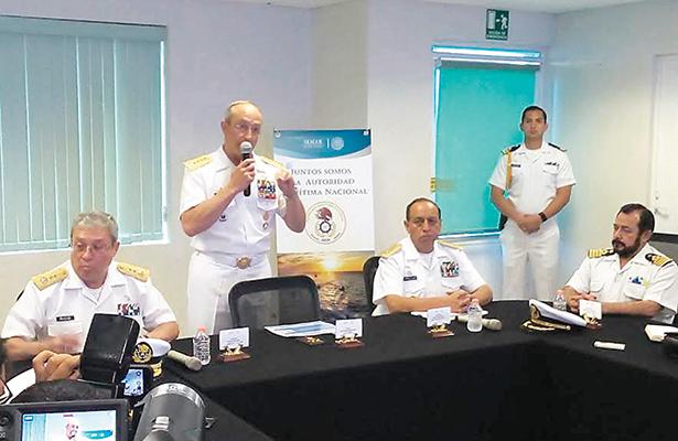 Semar ya controla capitanías de puerto en Tamaulipas