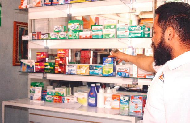Demanda en farmacias a causa de cuadros gripales