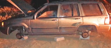 Recuperan dos vehículos reportados como robados