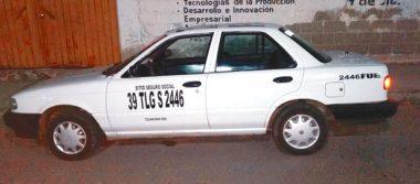 Roban en vivienda, taxista grabado al cometer el ilícito