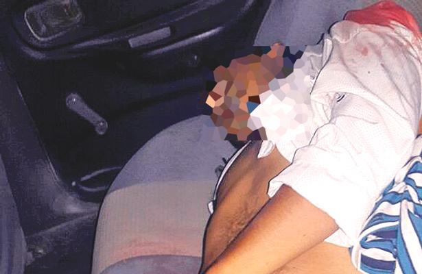 Matan a chofer de microbús, su esposa estaba cuando lo balearon