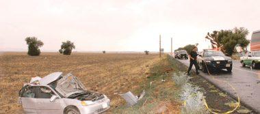 Domingo se tiñó de rojo: 3 accidentes automovilísticos
