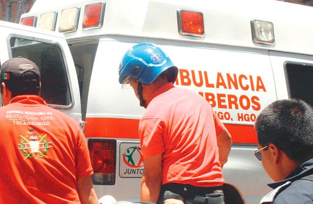 Menores lesionadas en lance automovilístico