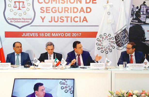 El gobernador Omar Fayad propone reforma al Sistema de Justicia Penal