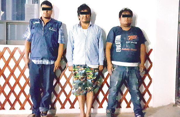 Pelean a tiros huachis y polis, otros 3 ordeñadores, capturados