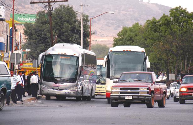 Coordinación entre Central de Autobuses y  P. Federal