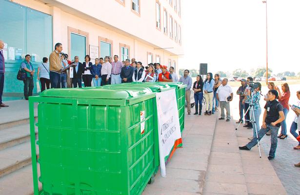 Nuevos contenedores para depositar basura