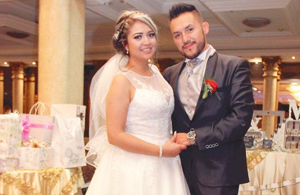 Enlace matrimonial de Tania Berenice y Misael