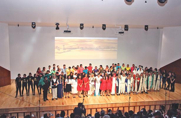 José El Soñador, ópera pop presentada por alumnos del Colegio Miravalle