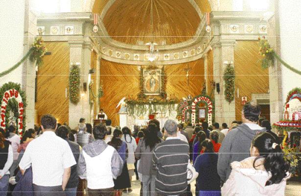 Peregrinaciones a parroquia de Nuestra Señora de los Ángeles
