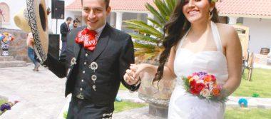 Enlace matrimonila de Damaris Aletse y Nicolás Kenety