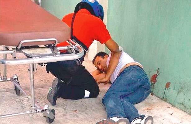 Intento de crimen, desconocido baléo a un hombre en la colonia Guadalupe