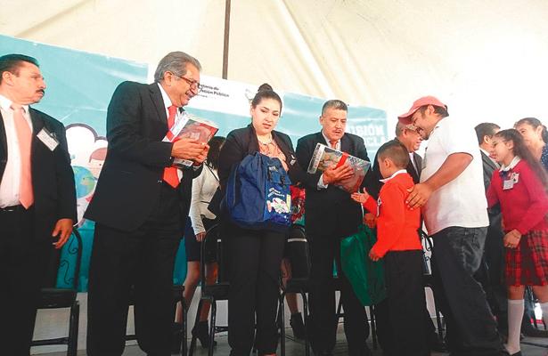 Apertura de curso escolar 2017-2018, en Cuautepec
