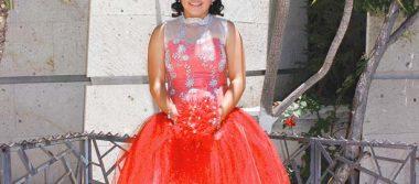 Valeria cumplió quince años