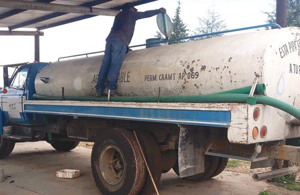 Supervisará la CAAMT carros cisterna