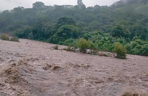 Alerta en Huehuetla por nivel del río Pantepec