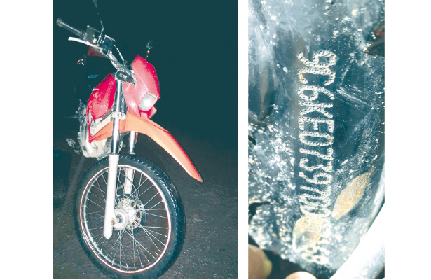 Circulaba feliz en moto robada