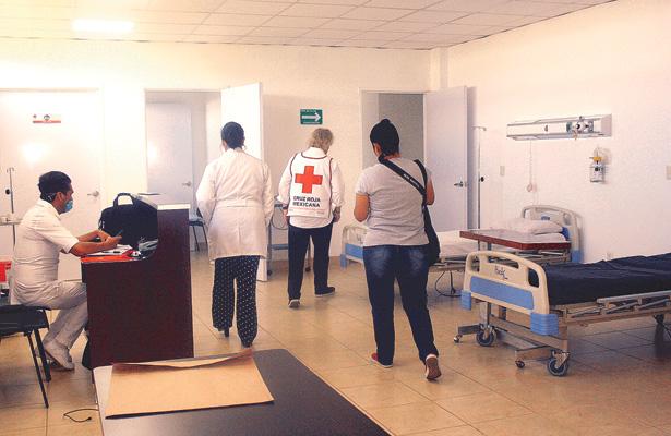 Trabaja en todas sus  áreas hospital de CR