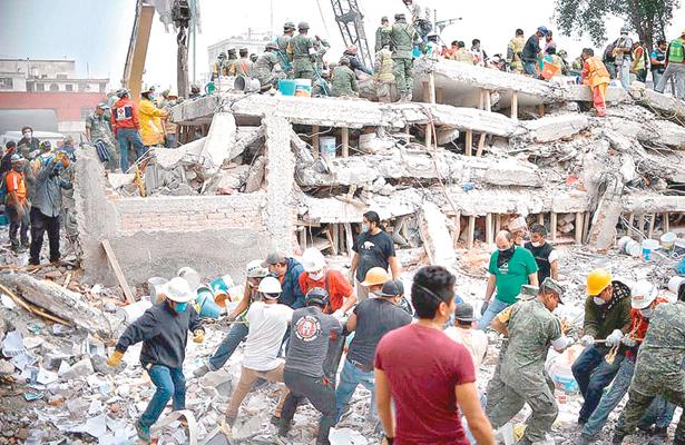 Surgen muchos altruistas luego de los temblores
