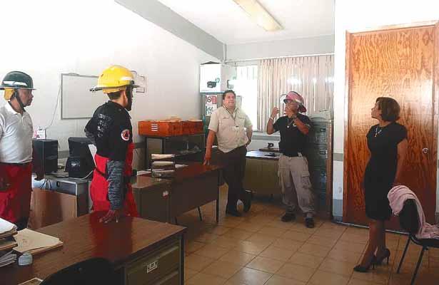 Tres escuelas de Cuautepec, registran daños
