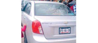 Atropelló con su auto a dos menores, en circuito Chapultepec