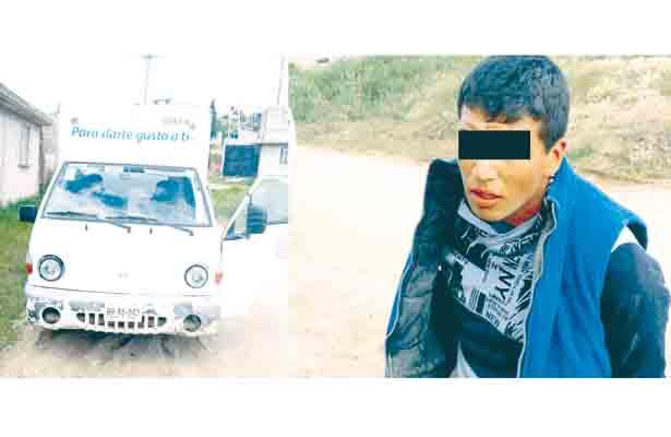 Policías estatales recuperan Hunday con reporte de robo