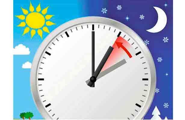 Concluye horario de verano, 29 de octubre