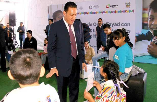 UNICEF reconoce a Hidalgo por acciones de protección a la niñez